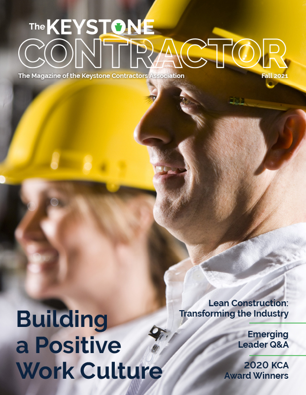 Keystone Contractor Magazine front cover Fall 2021
